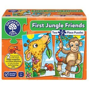First Jungle Friends jigsaw puzzle