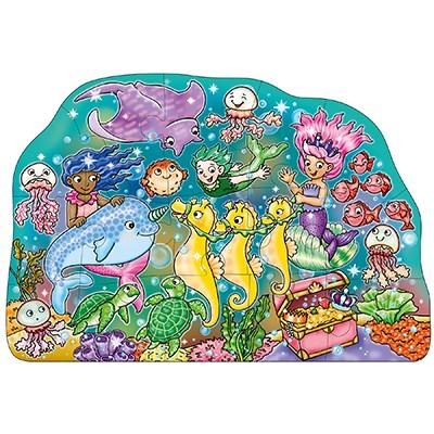 Mermaid Fun Jigsaw Puzzle1